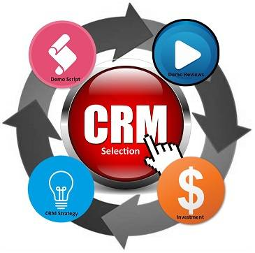 CRM Selection in 4 (Huge) Steps