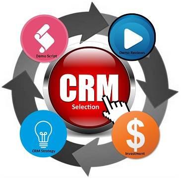 CRM Selection in 4 (Huge) Steps